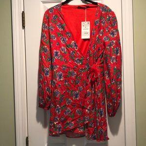 Wrap dress from Zara size medium